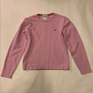 Lacoste women long sleeve shirt